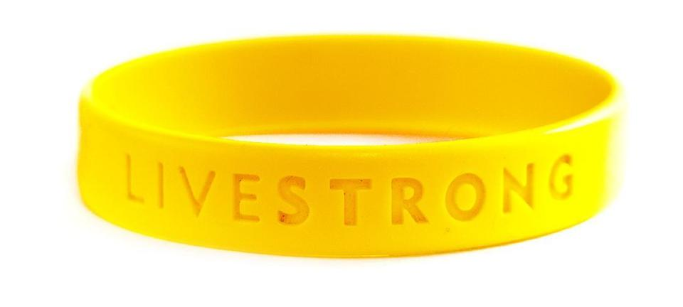 Livestrong bracelets: Don't take off the bracelet - The ...